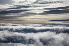 Inversion. (view from High Tatras mountains, Slovakia royalty free stock image