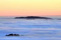 Inversion des montagnes Photographie stock libre de droits