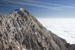 Inversion in the mountains Royalty Free Stock Photography