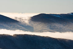 Inversion in the mountains Royalty Free Stock Images