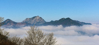 Inversion over Austria Stock Photography