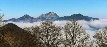 Inversion over Austria Stock Images