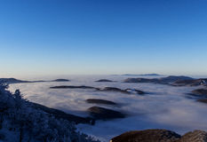 inversion over the country royalty free stock image