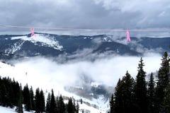 Inversion rêveuse de montagne images stock