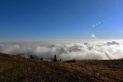 Inversion in Slovakia mountains Stock Images
