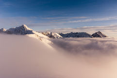 inversion Tatry Images libres de droits
