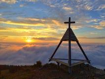 Inversione in Gerlitzen Alpen Fotografia Stock