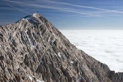 Inversione nelle montagne Fotografia Stock Libera da Diritti
