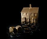 Inversiones en peligro de la propiedad Foto de archivo libre de regalías