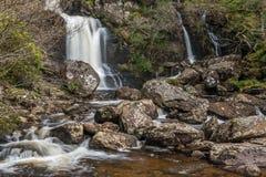 Inversnaid vattenfall Royaltyfri Foto