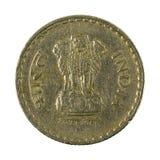 5 inverso della moneta 2000 della rupia indiana fotografia stock libera da diritti
