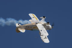 Inverted Goodyear Eagles Pitts Special Royalty Free Stock Photos