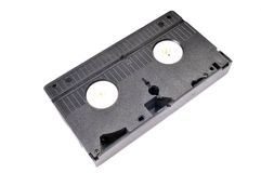 Inverted old vhs tape Stock Photo