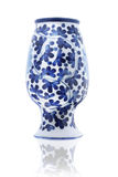 Inverted Porcelain Vase Royalty Free Stock Photos