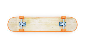Inverted skateboard Stock Image