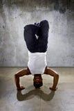Inverted Urban Break Dancer Stock Photos