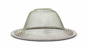 Inverted View of Mesh Sink Strainer Stock Photos