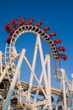 inverterad rollercoaster royaltyfri bild