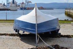 Inverterad träfartygnärbild Royaltyfria Foton