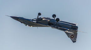 Inverterat flyg MIG-29 Arkivbilder
