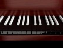 inverterat piano Royaltyfri Fotografi