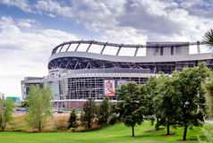 Invesco field/ denver broncos Stock Photos