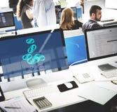 Invest Asset Networking Profit Revenue Social Concept Stock Photo
