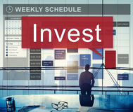 Invest Assets Banking Economy Financial Profit Concept Royalty Free Stock Photos