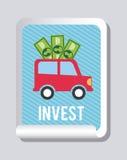 Invest design Stock Photo