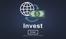 Invest Fund Banking Savings Business Concept Stock Photography