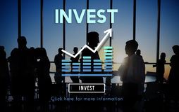 Invest Investment Financial Income Profit Costs Concept Royalty Free Stock Photo
