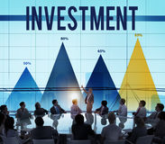 Invest Investment Fund Revenue Income Concept Stock Photos