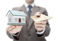 Invest in real estate concept Royalty Free Stock Photos