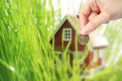 Invest in real estate concept. Royalty Free Stock Photography