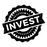 Invest stamp stamp Royalty Free Stock Photography