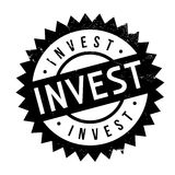 Invest stamp stamp Stock Images