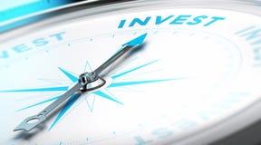 Investa il concetto Immagine Stock