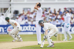 The Investec Ashes First Test Match Day Four Stock Image