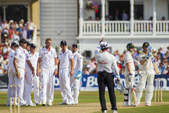The Investec Ashes First Test Match Day Four Royalty Free Stock Image