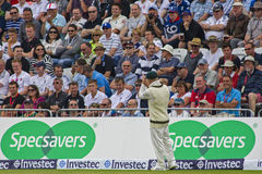 The Investec Ashes First Test Match Day One Royalty Free Stock Photography