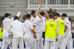 The Investec Ashes First Test Match Day One Stock Photos
