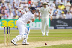 The Investec Ashes First Test Match Day Three Stock Images