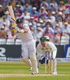 The Investec Ashes First Test Match Day Three Royalty Free Stock Photo