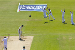 The Investec Ashes First Test Match Day Two Royalty Free Stock Image