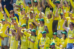 The Investec Ashes First Test Match Day Two Stock Image