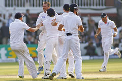 The Investec Ashes Second Test Match Day Four Royalty Free Stock Photos