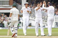 The Investec Ashes Second Test Match Day Four Stock Image