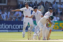 The Investec Ashes Second Test Match Day Four Stock Images