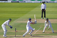 The Investec Ashes Second Test Match Day One Stock Images