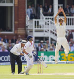 The Investec Ashes Second Test Match Day Three Royalty Free Stock Photos